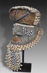 Kuba Mask Congo Royal mask