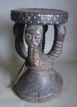 Kusu Hocker Stool Kongo