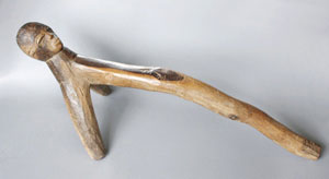 Headrest of the Lobi-People Burkina Faso